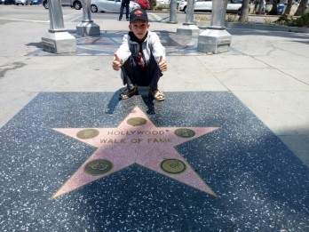 Walk of fame - Hollywood Blvd - Los Angeles