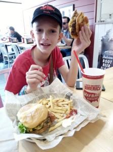 Mon premier hamburger américain ! - Los Angeles